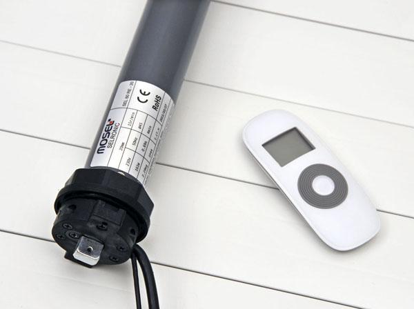External blister motors