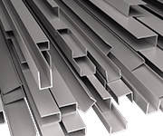 Galvanized profiles for doors and windows