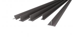 Aluminium profiles T-formed